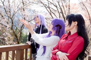 間桐桜、ライダー、遠坂凛@Fate/stay night レイヤー:莉紗様、千迅様、たかゆき様
