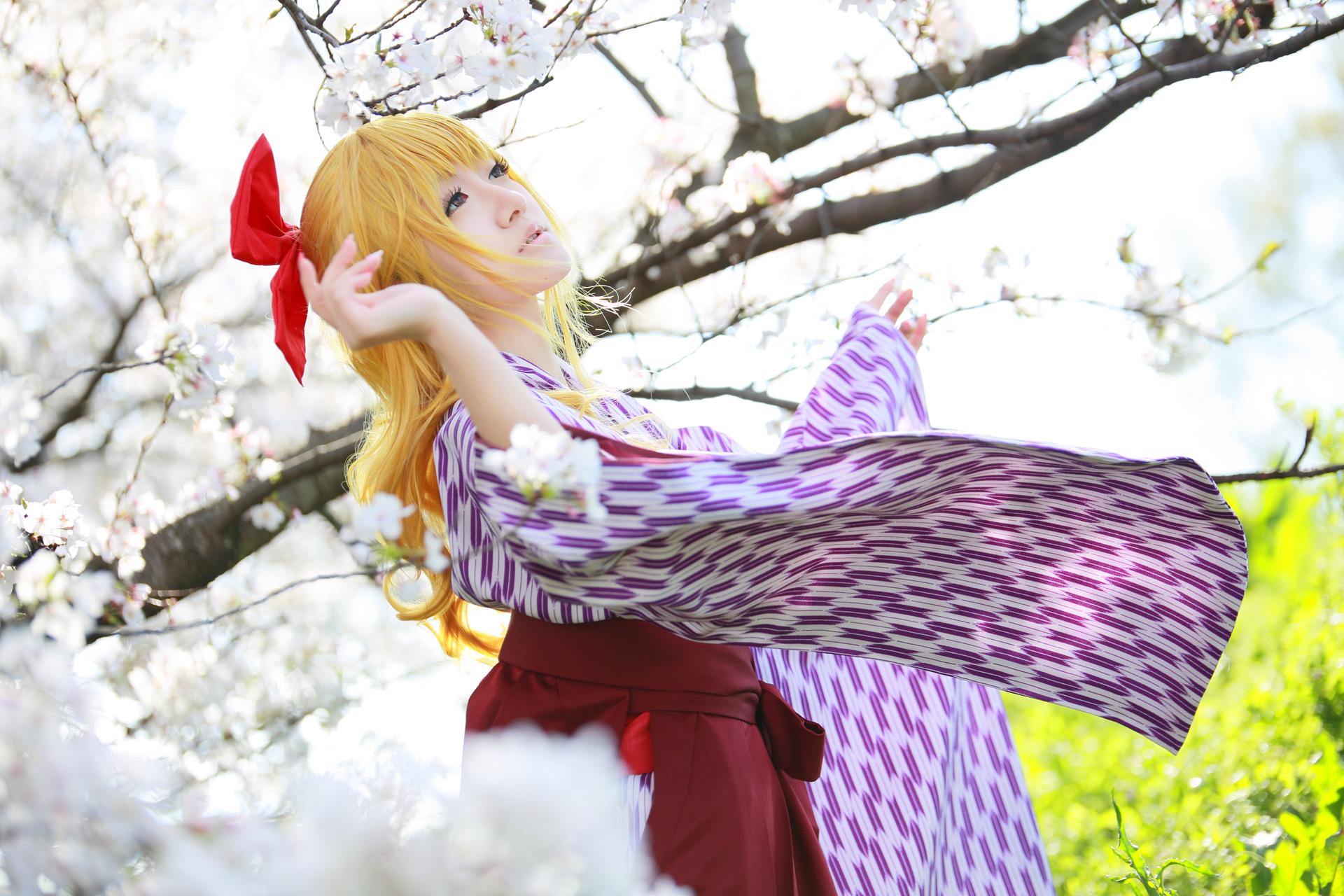 花村紅緒@はいからさんが通る コスプレイヤー:翠色林檎さん