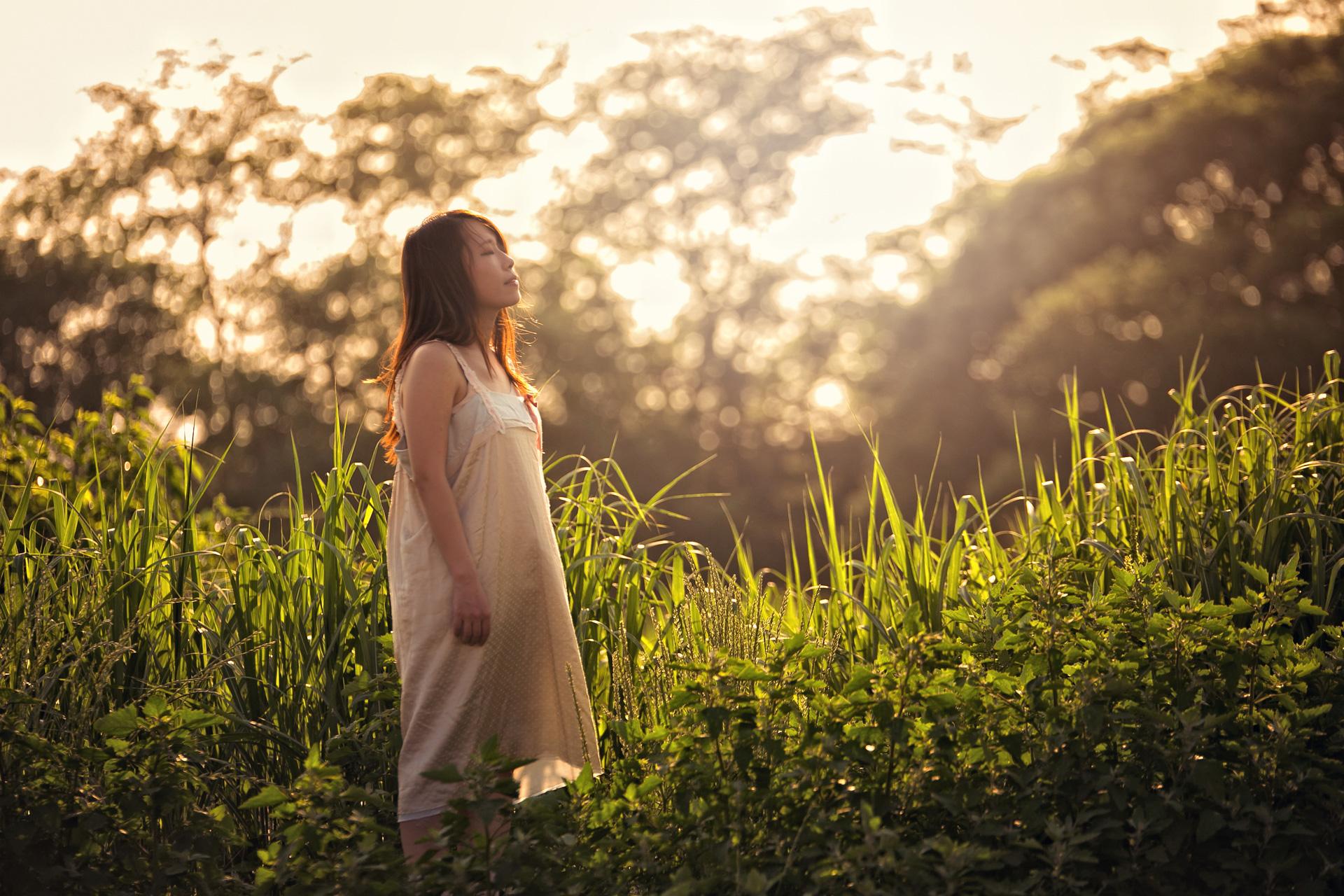 Sunset wind モデル:riocaさん