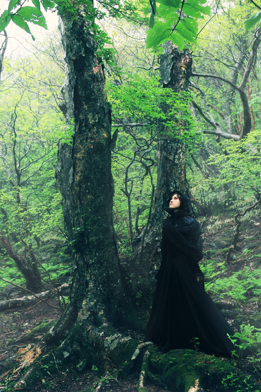 Foggy forest モデル:さゆさん