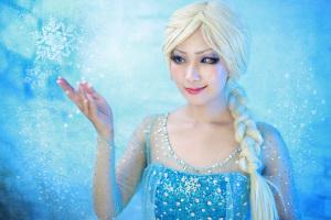 アナと雪の女王:エルサ コスプレイヤー:よーかさん