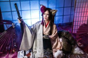 コスプレイヤー:総咲コータさん 妖狐@オリジナル衣装