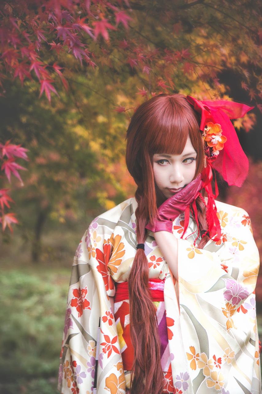 紅葉和装オリジナル衣装