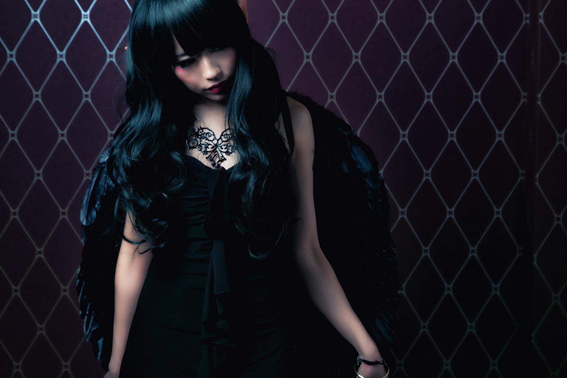 オリジナル堕天使 モデル:紫音パンツさん