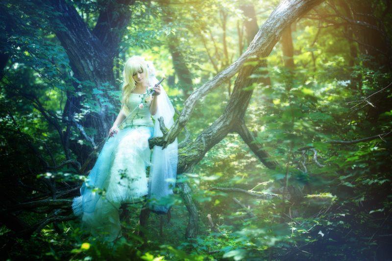 Lady of the Lake@オリジナル衣装 モデル:波月ニナさん