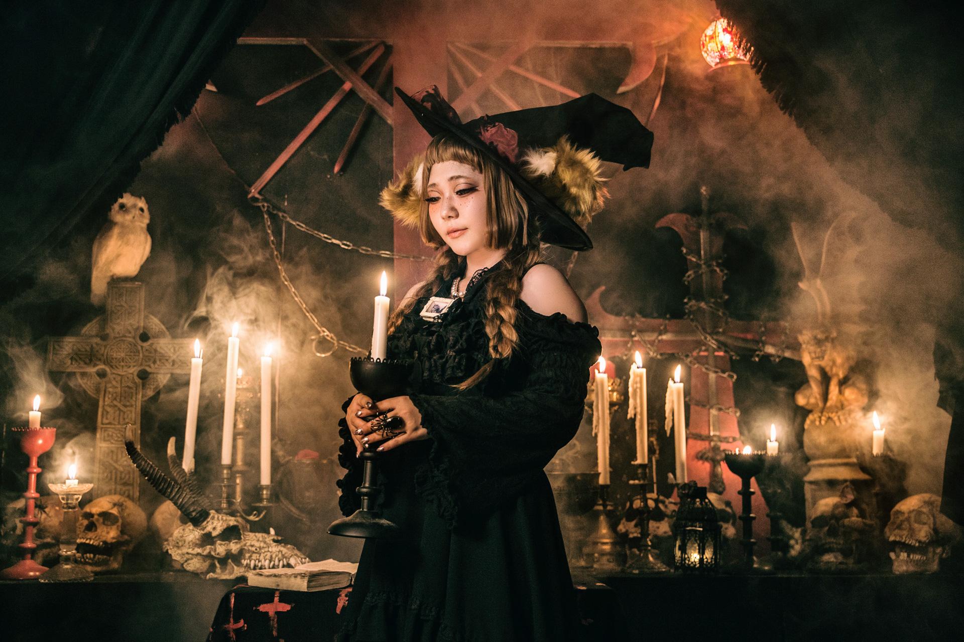Witch's Prayer@オリジナル衣装 モデル:じぜるさん