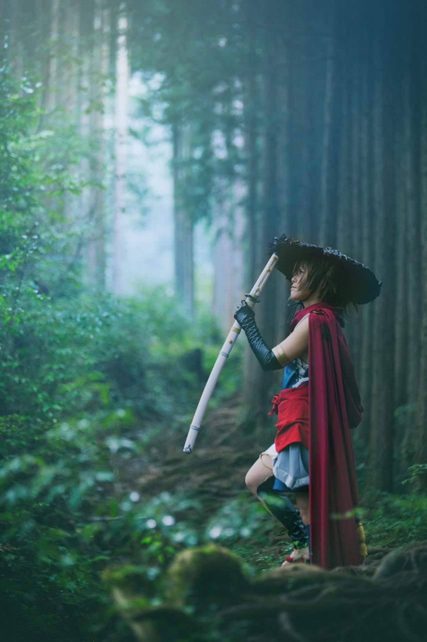 ヤマトタケル@ヤマモトナオキさん日本神話タロットカード モデル:総咲コータさん