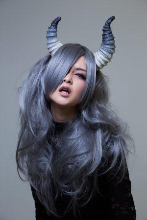 月の悪魔あるいは女神 model:とめとさん_14