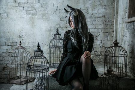 月の悪魔あるいは女神 model:とめとさん_6