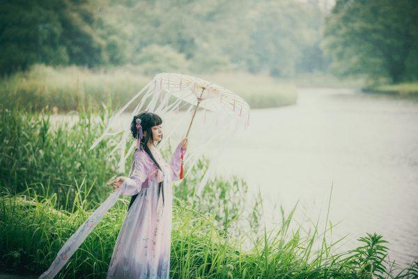 好雨知時節当春乃発生 model:弥生さん