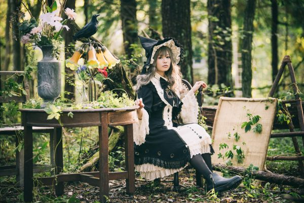 THE WITCH AND THE WOODS model:吉森未沙希さん